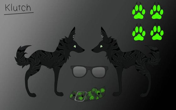 Klutch Ref Sheet by SketchMaster22