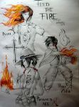 Feed the Fire - Coloured by FarrahPhoenix