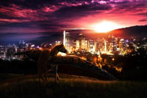 Gift::City Lights by SilverSummerSong