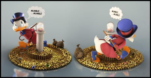Uncle Scrooge: Mumble by EderCarfagnini