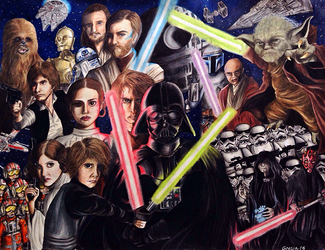 STAR WARS by greciiagzz