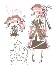 Character sheet : violan by creamy-choco