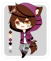 Adopt Set Price: Wolf Boy [Closed] by riicu