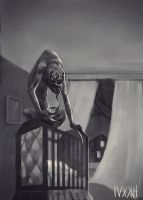 The Rake Creepypasta Fanart by nickkaur