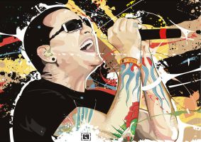 Chester Bennington by Toolkit04