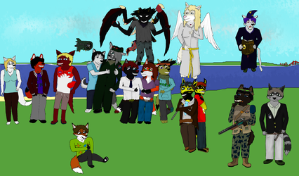 The Gang III WIP by Necr0shade95