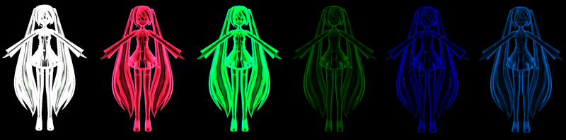 MMD Spectrum Illusionary Shaders DL by ChestNutScoop