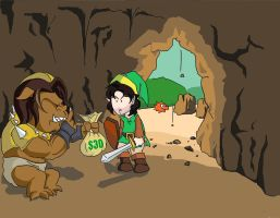 Game Grumps in The Legend of Zelda by Fredcheeseburger