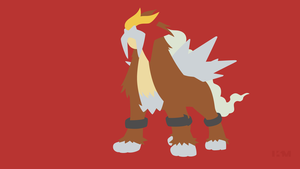 Entei by Krukmeister