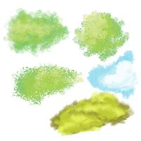 Nature Brushes by claireone