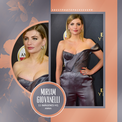 Photopack 25361 - Miriam Giovanelli by southsidepngs