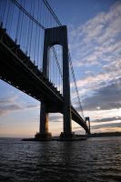Verrazano Bridge by MichelleRamey