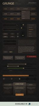 Grunge User Interface by Evil-S