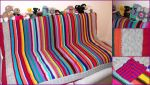 The Knitted Blanket of Awesome by foxymitts