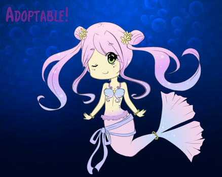 Mermaid Adoptable [OPEN] by Lucie-Chan