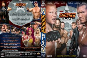 WWE SummerSlam 2016 DVD Cover by Chirantha