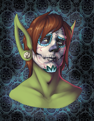 Kizzy - Day of the Dead by Dogslug
