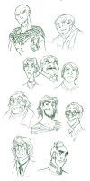 random HP faces_3 by roby-boh