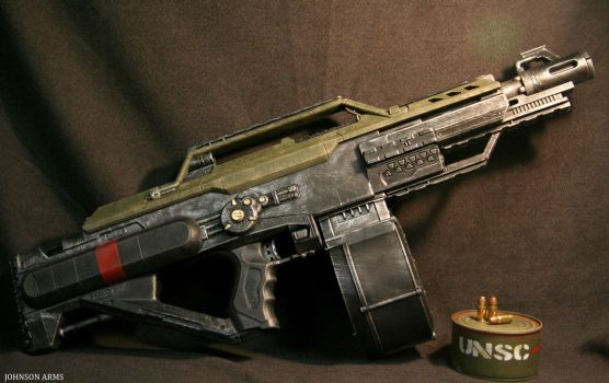 Halo Style Nerf Stampede Done by JohnsonArmsProps