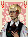 Polish Queen of Hearts by butterflybudda