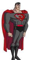 Superman Red Son DCAU style by Azraeuz