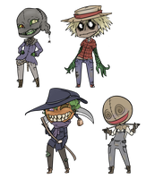 Scarecrow Adopts (Closed) by FlyingLimes