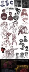 sketchdump 20 by ZetsubouZed