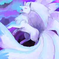 Ninetails by crayon-chewer