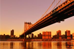Manhattan Bridge by MezeixP