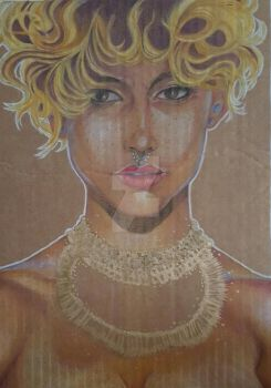 The Queen of the Nile WIP by DeboraFonseca