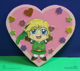 A Hug from Link for Valentine's Day! by MeMiMouse
