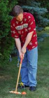 Croquet Stance by cyspence