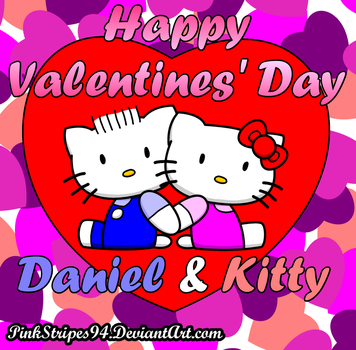 Happy Valentines' Day, Says Kitty and Daniel by PinkStripes94