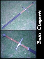 Basic LARP Claymore by BanesArmory