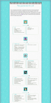 Teal Notebook Literature Feature Skin by Nichrysalis