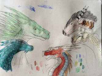 Colorful Atrocity by talons-and-tails