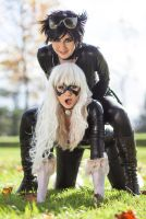 WTF - Catwoman, what are you doin' now?! by ToxicHime