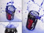 Coca Cola ZERO Blue version 1 by The-proffesional