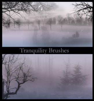 Tranquility Brushes by wyckedBrush
