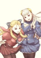 Ingrid and Karin by yuichi012