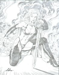 Lady Death by MikeLeeke