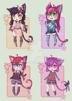 Adoptables 05 - [CLOSED] by Omugai