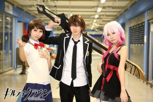we are all Guilty Crown by Negize