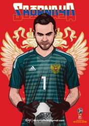 Russia - Igor Akinfeev by dicky10official