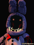 Withered Bonnie Poster by LillyTheRenderer