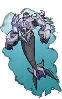 Megatron Lord of the Sea ::MerMay:: by Lumen-Terra