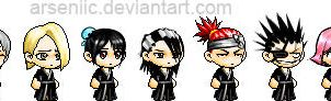 Bleach'd Maplestory by arseniic