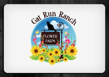 Logo for Cat Run Ranch by silent-daemon