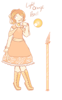 Light Orange Pearl [Contest entry] by CupcakeForMyKitten