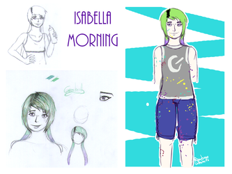 Chara-design Isabella by Rainbow-White